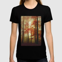 Painted Forest - Moody Autumn Woodlands T-shirt