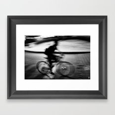 The Last Ghost Framed Art Print