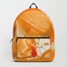 Orange Fish Backpack