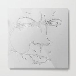 Facetime Metal Print