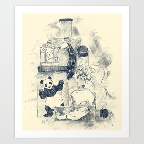 Preservation Art Print