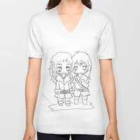 "kili V-neck T-shirts featuring Fili & Kili "" the hobbit"" by Selis Starlight"