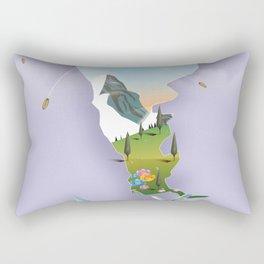 Argentina travel poster. Rectangular Pillow