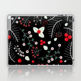 mistletoe black Laptop & iPad Skin