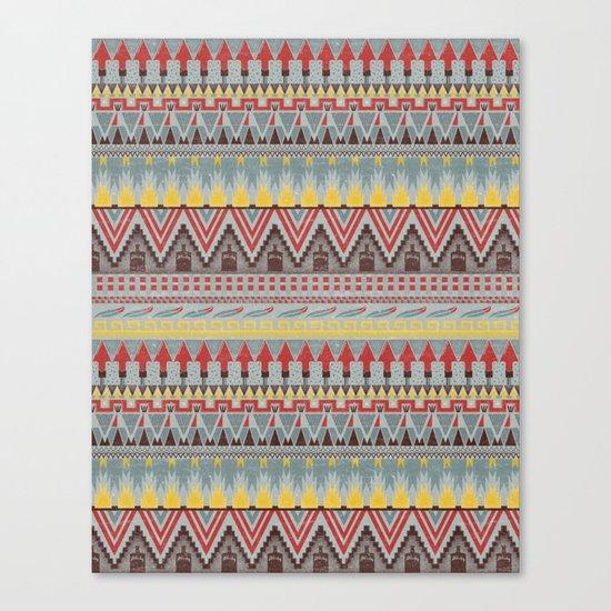 WHISKY AZTEC  Canvas Print