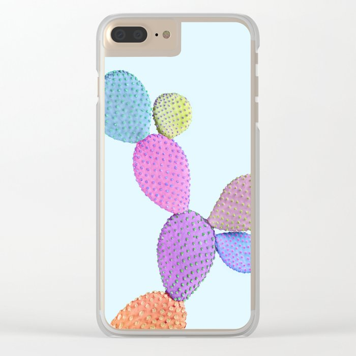 CACTUS COLOR Clear iPhone Case