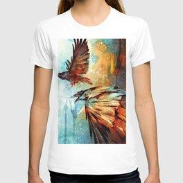 Crows in Flight T-shirt