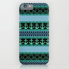 Geometric Pirates iPhone 6s Slim Case