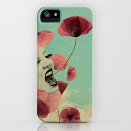 The Silent Storm iPhone Case