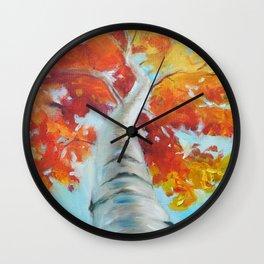Ivan Maple Tree Wall Clock