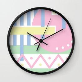 Geometric Calendar - Day 49 Wall Clock