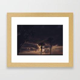 Ocean Storm Framed Art Print