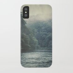 valley and river Slim Case iPhone X