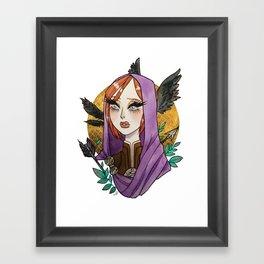 Leliana Framed Art Print