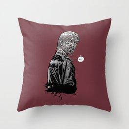 The Walking Dead Rick Grimes Throw Pillow