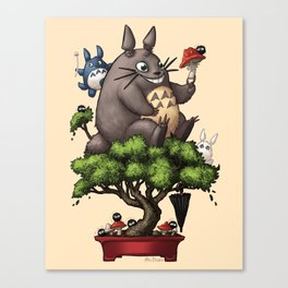 Forest Guardian Bonsai  Canvas Print