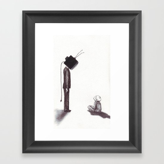 PG Framed Art Print