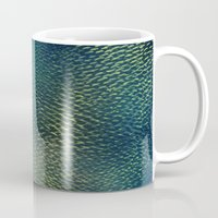 scales Mugs featuring Scales by Simona Sacchi