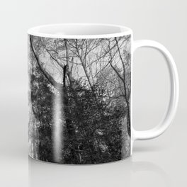 The forest canopy in a winter sky Coffee Mug