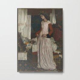 William Morris - La Belle Iseult Metal Print