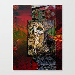 Captured Fragments Canvas Print