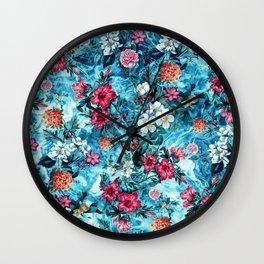 Ocean Ripple Wall Clock
