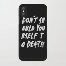 SHOULD Slim Case iPhone X