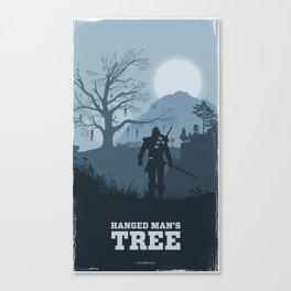 Hanged Man's Tree (Witcher 3) Canvas Print