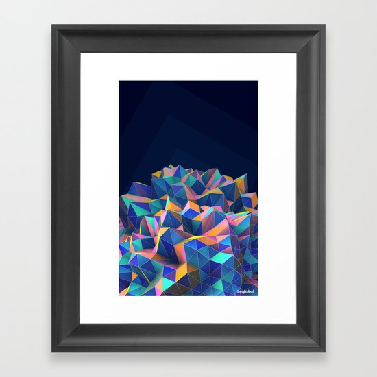 Gemplex Framed Art Print