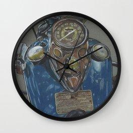 Harley Davidson Knucklehead Wall Clock
