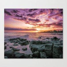 Purple, Kauai, Hawaii, Poipu Canvas Print