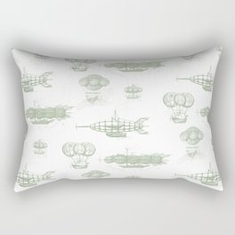 Airship Pattern Rectangular Pillow