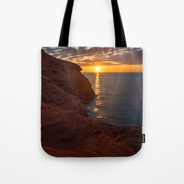 Seacow Head Sunset Tote Bag