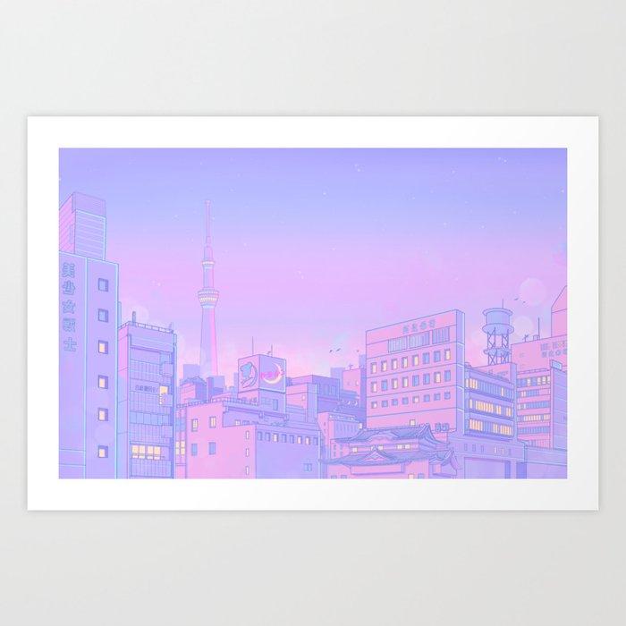 Sailor City Kunstdrucke