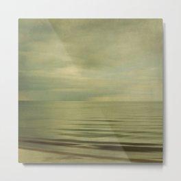 sea square XI Metal Print