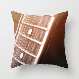 One Chord Away Throw Pillow