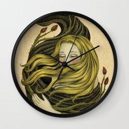 An Embrace Wall Clock