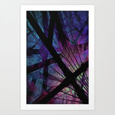 Oh, What A Tangled Web We Weave Art Print