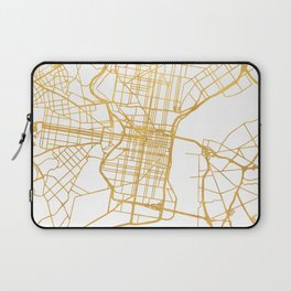 PHILADELPHIA PENNSYLVANIA CITY STREET MAP ART Laptop Sleeve