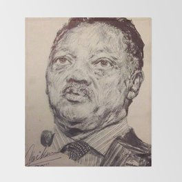 JESSE JACKSON Throw Blanket