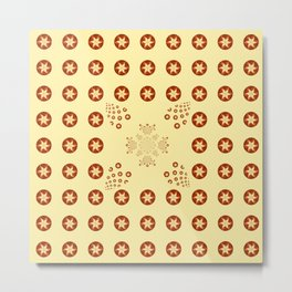 Sepia Design   Metal Print