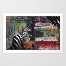 SUDDEN Art Print