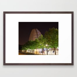 Space center 1 Framed Art Print