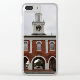 Historic Market House Clear iPhone Case