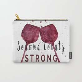 Sonoma County Strong Carry-All Pouch