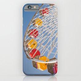 California Wheelin - Santa Monica Pier iPhone Case