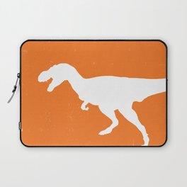 T-rex Orange Dinosaur Laptop Sleeve