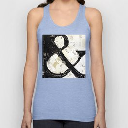 ampersand 01 Unisex Tank Top