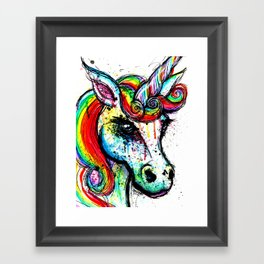 Unicorn II Framed Art Print