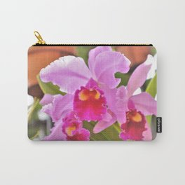 Cattelya Hybrid Orchid Carry-All Pouch